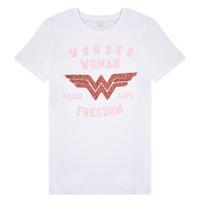 Oblečenie Dievčatá Tričká s krátkym rukávom Name it NKFWONDERWOMEN Biela