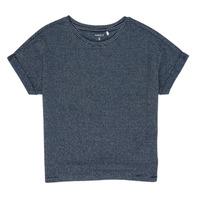 Oblečenie Dievčatá Tričká s krátkym rukávom Name it NKFKYRRA Námornícka modrá