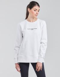 Oblečenie Ženy Mikiny Tommy Hilfiger TH ESS HILFIGER C-NK SWEATSHIRT Biela