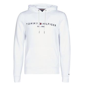 Oblečenie Muži Mikiny Tommy Hilfiger TOMMY LOGO HOODY Biela