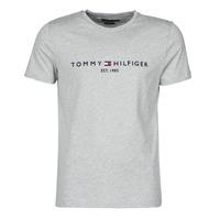Oblečenie Muži Tričká s krátkym rukávom Tommy Hilfiger TOMMY LOGO TEE Šedá