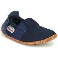 Topánky Deti Papuče Giesswein SOLL Námornícka modrá