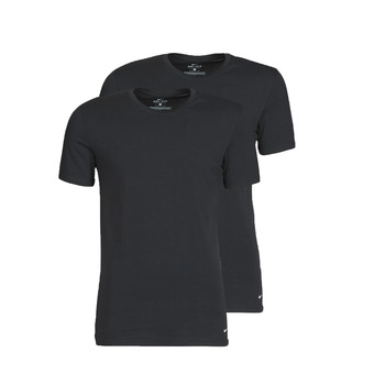 Oblečenie Muži Tričká s krátkym rukávom Nike EVERYDAY COTTON STRETCH Čierna