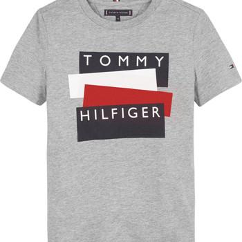Oblečenie Chlapci Tričká s krátkym rukávom Tommy Hilfiger KB0KB05849-P6U Šedá
