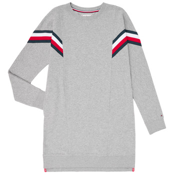 Oblečenie Dievčatá Krátke šaty Tommy Hilfiger KG0KG05283-P6U Šedá