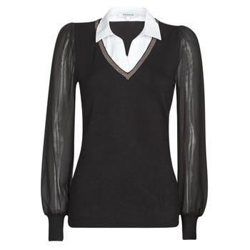 Oblečenie Ženy Svetre Morgan MVANI Čierna