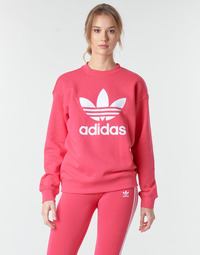 Oblečenie Ženy Mikiny adidas Originals TRF CREW SWEAT Ružová