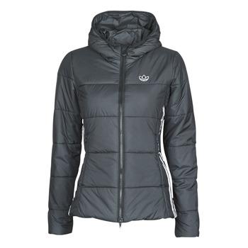 Oblečenie Ženy Vyteplené bundy adidas Originals SLIM JACKET Čierna