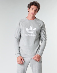 Oblečenie Muži Mikiny adidas Originals TREFOIL CREW Šedá