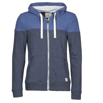 Oblečenie Muži Mikiny Tom Tailor 1021268-10668 Námornícka modrá / Modrá