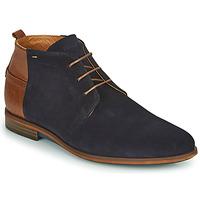 Topánky Muži Polokozačky Kost IRWIN 5A Námornícka modrá