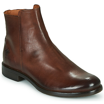 Topánky Muži Polokozačky Kost NORMAN 35 Hnedá