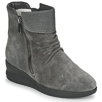 Topánky Ženy Polokozačky Damart 64305 Šedá