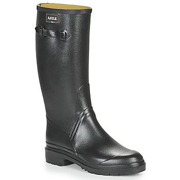 Topánky Muži Gumaky Aigle CESSAC Čierna