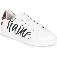 Topánky Ženy Nízke tenisky Bons baisers de Paname SIMONE AMOUR/HAINE Biela