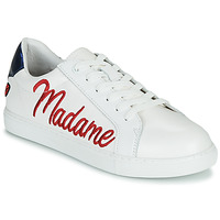 Topánky Ženy Nízke tenisky Bons baisers de Paname SIMONE MADAME MONSIEUR Biela