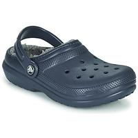 Topánky Deti Nazuvky Crocs CLASSIC LINED CLOG K Modrá