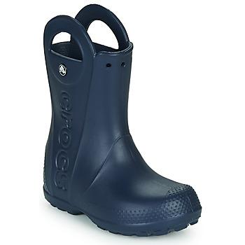 Topánky Deti Gumaky Crocs HANDLE IT RAIN BOOT Námornícka modrá