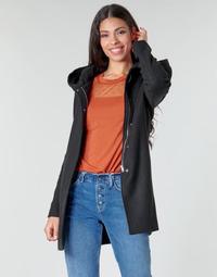 Oblečenie Ženy Kabáty Moony Mood NANTE Čierna