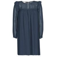 Oblečenie Ženy Krátke šaty Moony Mood BREYAT Námornícka modrá
