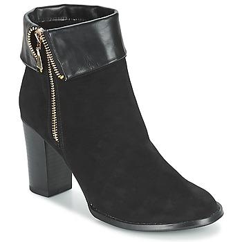 Topánky Ženy Čižmičky Moony Mood FRISETTE Čierna