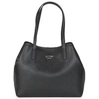 Tašky Ženy Veľké nákupné tašky  Guess VIKKY TOTE Čierna