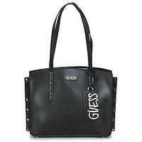 Tašky Ženy Veľké nákupné tašky  Guess TIA GIRLFRIEND CARRYALL Čierna