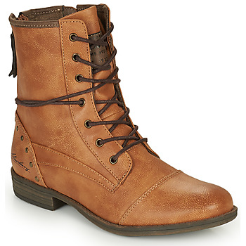 Topánky Ženy Polokozačky Mustang 1157508 Ťavia hnedá
