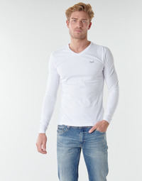 Oblečenie Muži Tričká s dlhým rukávom Kaporal VIFT Čierno-biela