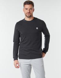 Oblečenie Muži Tričká s dlhým rukávom Timberland LS Dunstan River Tee Čierna