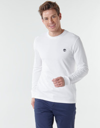 Oblečenie Muži Tričká s dlhým rukávom Timberland LS Dunstan River Tee Biela