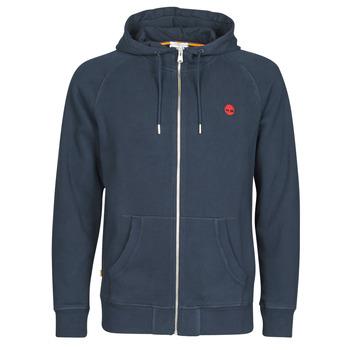 Oblečenie Muži Mikiny Timberland E-R Basic Reg Zip Námornícka modrá