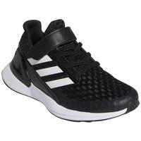 Topánky Deti Bežecká a trailová obuv adidas Originals Rapidarun Biela, Čierna