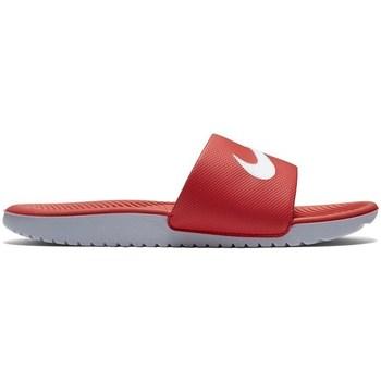Topánky Deti športové šľapky Nike Kawa Slide Gsps Červená