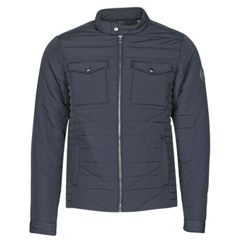 Oblečenie Muži Vyteplené bundy Teddy Smith B-JEFFER Námornícka modrá
