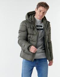 Oblečenie Muži Vyteplené bundy Teddy Smith B-OVER Kaki