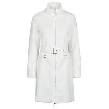 Oblečenie Ženy Kabáty Marciano MARBREE FUR COAT Krémová