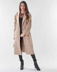 Oblečenie Ženy Kabáty Marciano DAIMON COAT Béžová