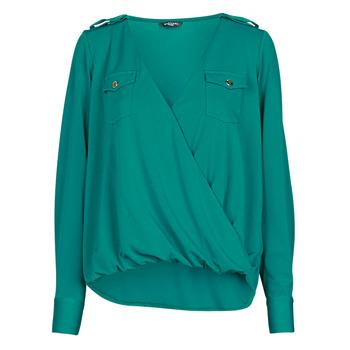 Oblečenie Ženy Blúzky Marciano SALLY CREPE TOP Zelená