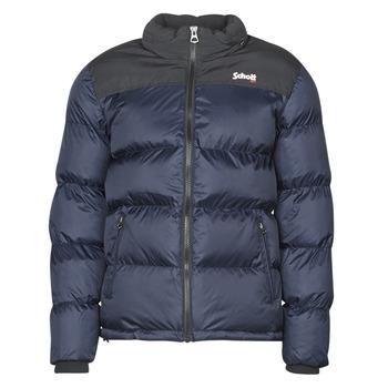Oblečenie Vyteplené bundy Schott UTAH Námornícka modrá / Čierna