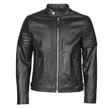 Oblečenie Muži Kožené bundy a syntetické bundy Schott LCJOE Čierna