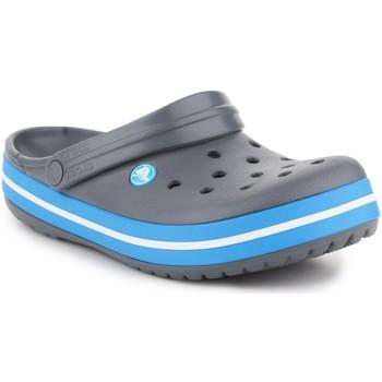 Topánky Muži Šľapky Crocs Crocband  11016-07W grey