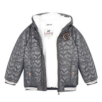 Oblečenie Dievčatá Bundy  Chipie 8R41014-46 Šedá