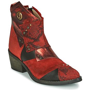 Topánky Ženy Čižmičky Casta DEMA Červená