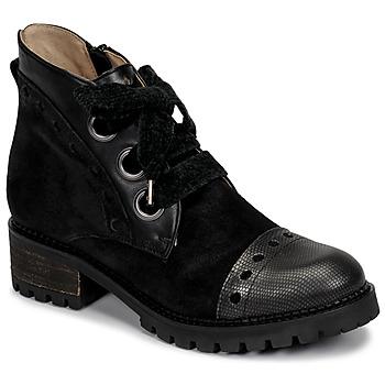 Topánky Ženy Polokozačky Casta MANDA Čierna