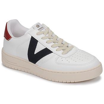 Topánky Nízke tenisky Victoria SIEMPRE PIEL VEG Biela / Modrá / Červená