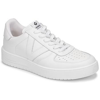 Topánky Ženy Nízke tenisky Victoria SIEMPRE PIEL Biela