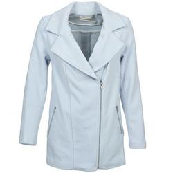 Oblečenie Ženy Kabáty Naf Naf AIMART Modrá