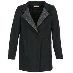 Oblečenie Ženy Kabáty Naf Naf ALEXIA Čierna