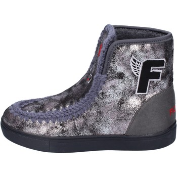 Topánky Dievčatá Čižmičky Fiorucci BM419 Šedá